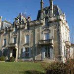château saint Vincent à Bazas en sud Gironde, près du sauternais,et des Landes.