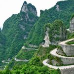 Tianmen-Shan-Big-Gate-Road